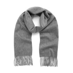 Shop the Classic Cashmere Scarf in Grey Marl Cashmere at Mulberry.com. Wrap up in cashmere when the days get colder. This classic cashmere scarf will certainly keep out the chill, and is simple and timeless in elegant tones, to take you from season to season.