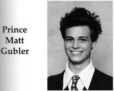 Such a cutie. Oh yearbook pictures.