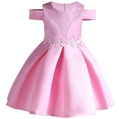 Baby Girl embroidery Silk Princess Dress for Wedding party Kids Dresses for Toddler Girl Children Fashion Christmas Clothing Toddler Princess Dress, Toddler Girl Dresses, Flower Girl Dresses, Toddler Outfits, Toddler Girls, Girls Dresses Online, Gowns For Girls, Fashion Kids, Toddler Fashion