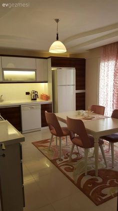 Halı, Mutfak, Mutfak masası, Pembe