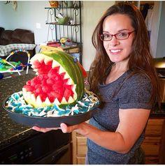 Shark watermelon!
