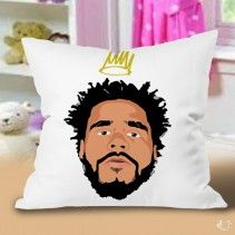 J Cole Born Sinner Pillow Cases