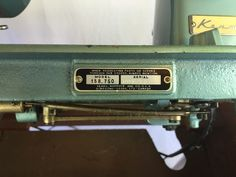 Vintage Kenmore model 75 (158.750) sewing machine