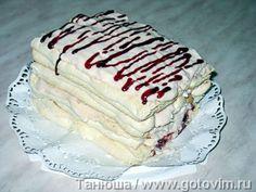 Австрийский десерт Kardinalschnitten  . Фото-рецепт