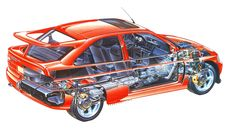 Ford Rs, Car Ford, Cutaway, Ford Cars List, Sport Cars, Race Cars, Rc Chassis, Ford Escort, Top Cars