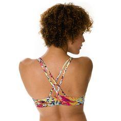 Onzie Criss-Cross Bra Top - Hot Yoga Clothing, Bikram Yoga Clothes, Core Power Yoga
