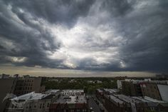 Storm Cell from the Roof 3 - May 14th, 2016 . . . Location - Bay Ridge, Brooklyn