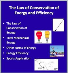 """This lesson package review The Law of Conservation of Energy and Efficiency. The PowerPoint lesson package begins by introducing The Law of Conservation of Energy. It then moves onto Mechanical Energy, Other forms of energy, Energy efficiency as well as a sports application for conservation. Within the lesson there are many opportunities for students to test their knowledge through """"Check Your Understanding"""" slides with the teacher version containing the answers (these are generally…"""