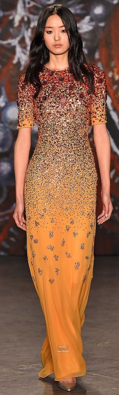 Jenny Packham Collections Fall Winter 2015-16 collection                                                                                                                                                      More