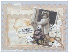 Candice papieren wereld: Kerstmis tagkort - Pion Design.