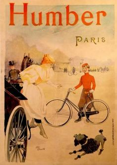 Humber bicycles ~ Maurice Deville
