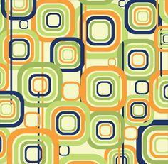 Free retro pattern - vector (www.shutterstock.com)