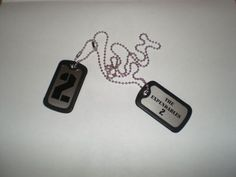 The Expendables 2 Dog Tags Lionsgate Stallone Schwarzenegger COMIC CON SDCC | eBay