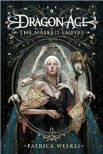 Dragon Age Cover Art for the novel The Masked Empire by Patrick Weekes. Dragon Age 4, Dragon Age Games, New Dragon, Dragon Age Books, Fantasy Book Covers, Fantasy Books, Fantasy Artwork, Starcraft, Dragon Age Inquisition Characters
