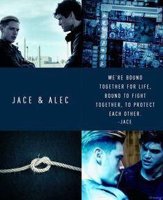 #Shadowhunters - Jace & Alec