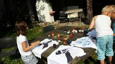 T-Shirt bemalen Picnic Blanket, Outdoor Blanket, Kids, Children, Baby Boys, Picnic Quilt, Child, Babys, Babies