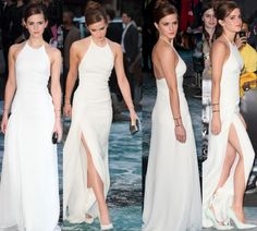 Emma Watson Is Breathtaking in Ralph Lauren and Jimmy Choo