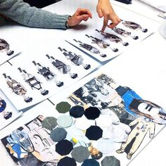 AllIstituto Marangoni di Milano il confronto tra studenti e professionisti del mestiere è allordine del giorno.  Nella foto: #AntonioPatrunoRandolfi docente di #FashionDesign esamina il #moodboard realizzato da #HuXin. #MClikes #SupportTalent #IstitutoMarangoni #Marangoni #MarangoniMilano  via MARIE CLAIRE ITALIA MAGAZINE OFFICIAL INSTAGRAM - Celebrity  Fashion  Haute Couture  Advertising  Culture  Beauty  Editorial Photography  Magazine Covers  Supermodels  Runway Models