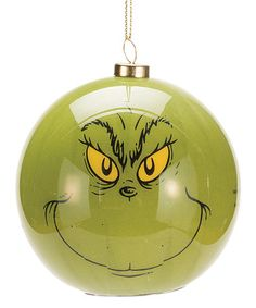 Look what I found on #zulily! Grinch LED Ornament by Dr. Seuss #zulilyfinds