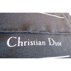 seta, scarf, sciarpa, seidentuch, Christian Dior, Foulard Carré, en Soie