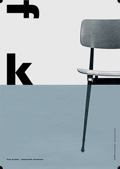 ♥ Front cover of the monograph on Dutch industrial designer Friso Kramer, published by 010 and sadly now out of print.