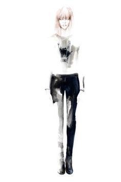 Karl Lagerfeld Fall Winter 2014/15 lookbook on Behance