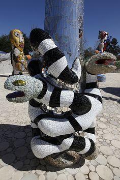 Queen Califia's Magical Garden - CA mosaic, Niki de Saint Phalle