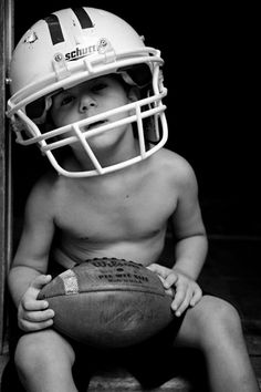12 Football Pictures Even Football Haters Will LOVE! (Including Bonus Photo Tips to Capture Your Own!) Photo #2 is my Son & Grandson playing football while posing for some pics <3