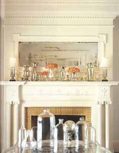 1000 images about mantle staging on pinterest mantels for Advanced molding and decoration