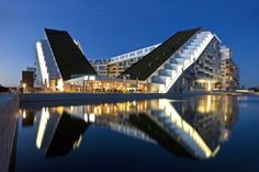 8 House, Copenhagen, Denmark; designed by Bjarke Ingels Group