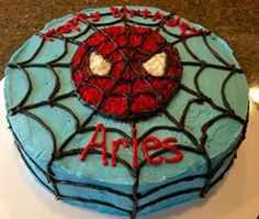 Spiderman Cake by Doreen S.