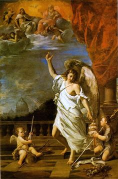 The Athenaeum - Allegory of the Papacy (Francesco Albani - )