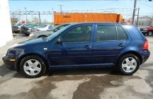 2002 VOLKSWAGEN GOLF  142,752 Miles  Sedans and Coupes | Automatic  cylinders | engine  $750 DOWN $250/MONTH