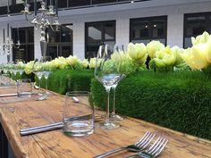 Tulpenkissen für Festtafel, Frühlingsdekoration für den Tisch