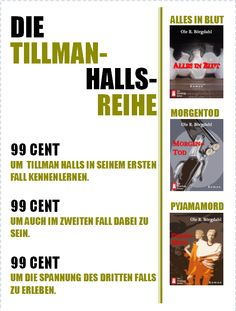 Tillman Halls Reihe