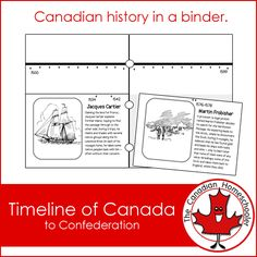 "Canadian history needs to be made more exciting, more interactive, more ""real."" Here is a month long list of hands on Canadian history activities. Black History Month Poems, Fur Trade, Social Studies Resources, History Activities, History For Kids, Canadian History, History Timeline, Canada, Learning Centers"