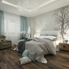 schlafzimmer holzwand graue farbe möbel inspiration | schlafzimmer ... - Inspiration Zur Einrichtung Schlafzimmer Holzwand