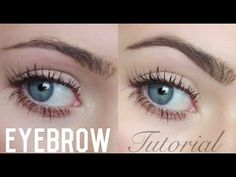 EYEBROW-TUTORIAL | BELLA - YouTube