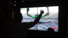 Realidade Virtual em Video Wall no STand Eletrobras no Anima Mundi 2013. www.illusionstudio.com