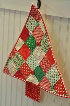 Patchwork en Casa - Anna: Propuesta: Árbol de Navidad