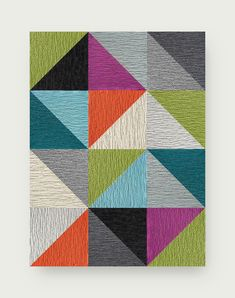 This area rug features Made You Look in Pearl, Chalk, Grey, Slate, Tangerine, Light Blue, Black, Kiwi, Magenta, Turquoise, and Flannel Blue. To assemble your rug, just use the FLORdots in the box with your tiles. This rug contains cuts. You may receive excess material from the cuts in your order. | Starburst - Multi Shag Carpet, Grey Carpet, Carpet Tiles, Contemporary Area Rugs, Modern Rugs, Flor Rug, Loom Bracelet Patterns, Quilted Wall Hangings, Accent Rugs