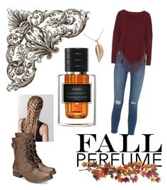 """Falling in Leaves"" by just-stringing ❤ liked on Polyvore featuring beauty, Nearly Natural, Frame Denim, Boris, American Rag Cie and Jennifer Meyer Jewelry"