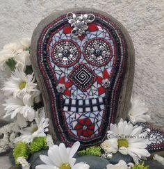 Day of the Dead /Dia de los Muertos / Skull by ChrisEmmertMosaic