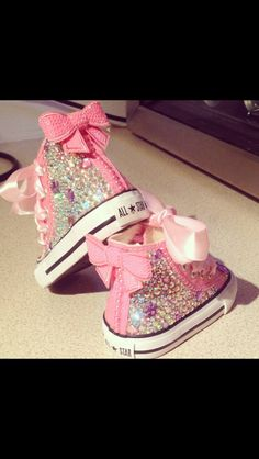 Super girly converse!!