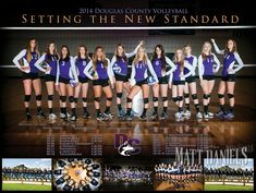 2014 Douglas County Volleyball photography and poster. Volleyball Senior Gifts, Volleyball Team Pictures, Volleyball Posters, Volleyball Set, Sports Posters, Volleyball Training, Coaching Volleyball, Volleyball Photography, Team Photography
