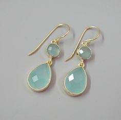 Hey, I found this really awesome Etsy listing at https://www.etsy.com/listing/194364853/aqua-chalcedony-earrings-gemstones