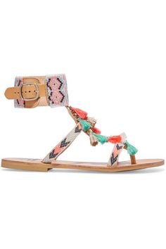 06d78ad44529 Shop on-sale Mabu by Maria BK Embellished leather sandals. Browse other  discount designer Sandals   more on The Most Fashionable Fashion Outlet