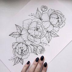 "3,472 Likes, 8 Comments - Идеи татуировок (@tattoopins) on Instagram: ""Отличные цветы от@jherellejaytattoo """