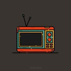 Televisi  #neverstopcreating #design #graphicdesign #designgraphic #illustration #icon #icondesign #iconutopia #flatdesign #vector #bestvector #doodle #art #drawing #sketch #thedesigntip #graphicgang #iconaday #graphicdesigncentral by hilmihd