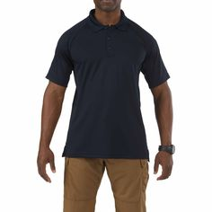5.11 Tactical Polyester Polo Shirt - Moisture Wicking Performance Polo